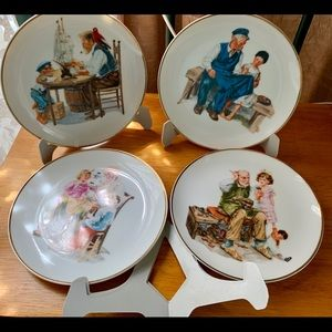 NORMAN ROCKWELL COLLECTOR PLATE SET